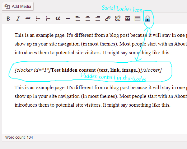 Social Locker for WordPress + bonus 5
